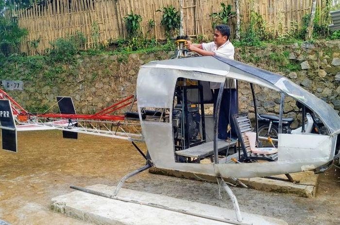 Image result for jujun junaedi helicopter