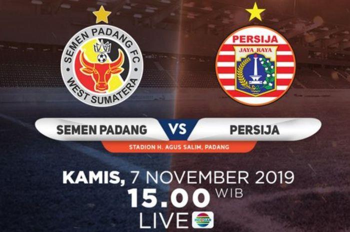 Semen Padang vs Persija Jakarta