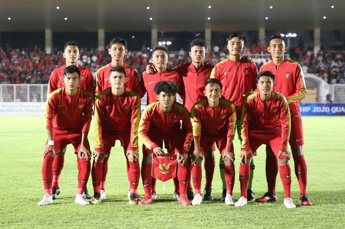 Timnas U-19 Indonesia Vs Timor Leste