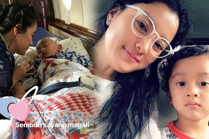 Awalnya Dikira Flu, Ternyata Anak Marcella Zalianty Kena Tumor Otak