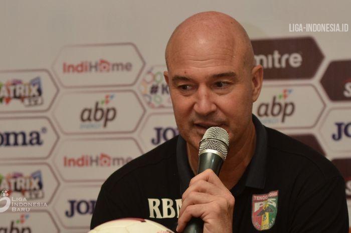 Pelatih Mitra Kukar, Rafael Berges Marin.
