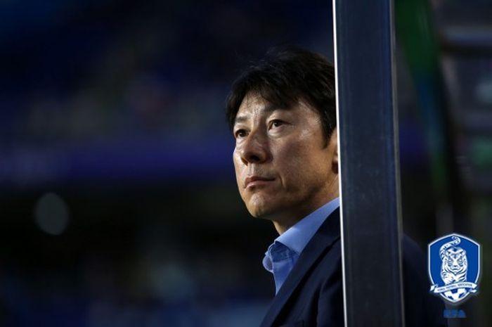 Pelatih asal Korea Selatan Shin Tae-yong.