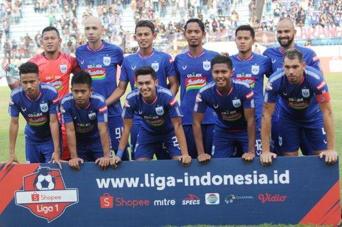 Skuad PSIS Semarang saat berlaga di Liga 1 2019.