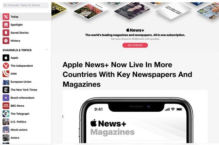 Layanan Apple News+ Kesulitan Mendapat Pelanggan Baru Sejak Maret