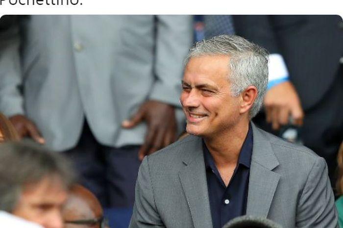 Jose Mourinho ditunjuk sebagai pelatih baru Tottenham Hotspur, Rabu (20/11/2019).