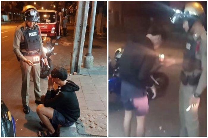 Seorang polisi viral di Facebook setelah berikan kue pada seorang remaja yang hendak ditilangnya.