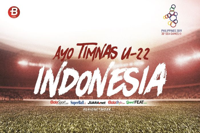 Ilustrasi berita timnas U-22 Indonesia di SEA Games 2019.