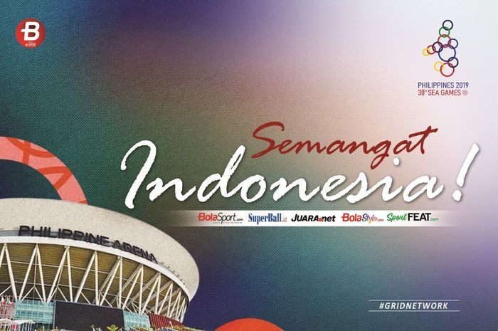 Ilustrasi berita kontingen Indonesia di SEA Games 2019.