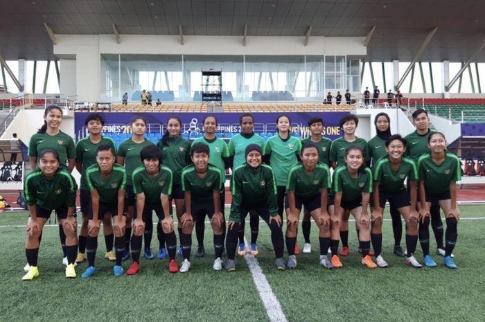 Skuad timnas putri Indonesia untuk SEA Games 2019 di Filipina.