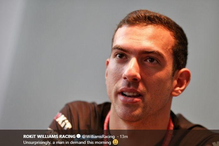 Nicolas Latifi, pembalap Williams untuk Formula 1 musim 2020.