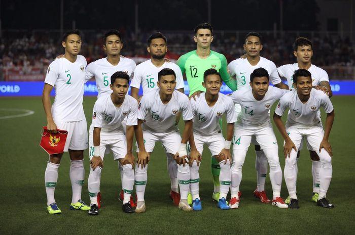 Skuat timnas U-22 Indonesia melawan Vietnam