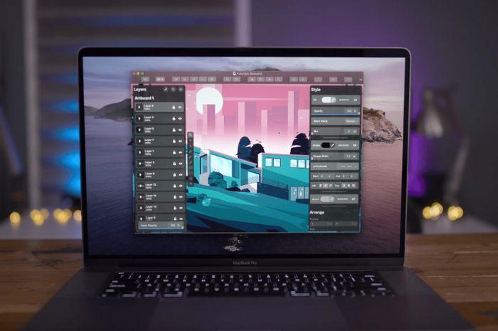 Aplikasi Grafis Vektor iOS, Vectornator Telah Hadir di macOS