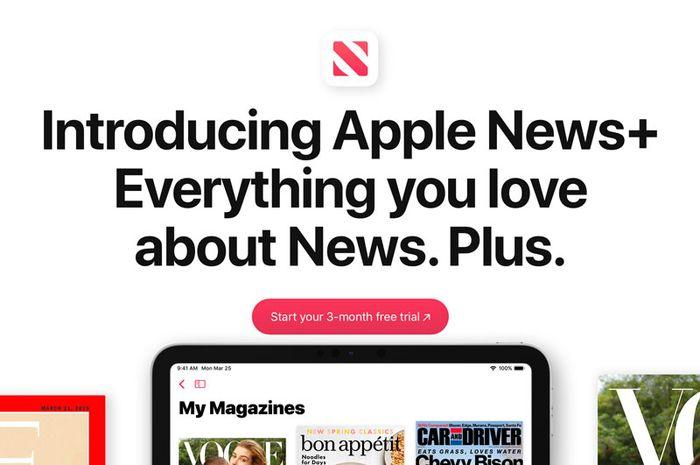 Apple Kembali Promosikan Apple News+ dengan Free Trial 3 Bulan