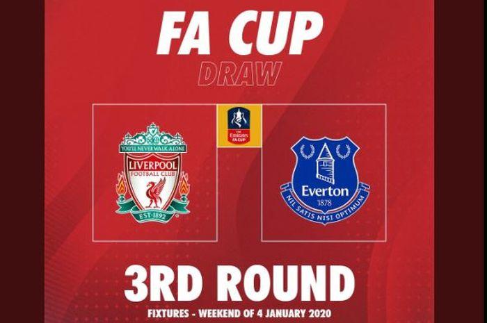 Liverpool bertemu Everton di babak 3 Piala FA 2019-2020.