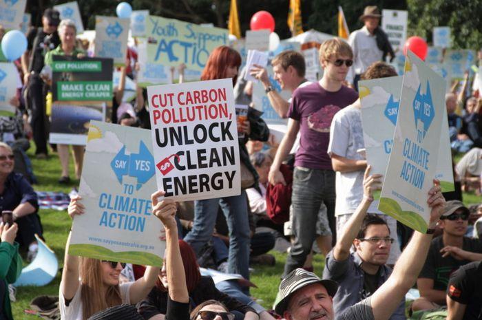Ilustrasi aktivis lingkungan.