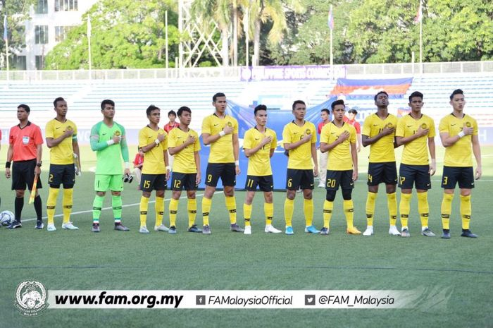 Timnas U-22 Malaysia dikalahkan Kamboja dan tersingkir di fase grup SEA Games 2019.