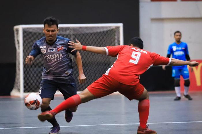 Suasana kompetisi LIMA Futsal: Nationals Season 7.