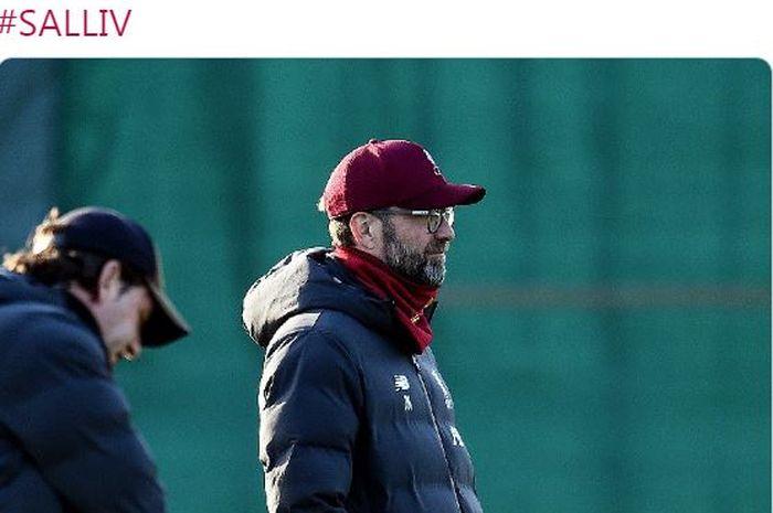 Pelatih Liverpool, Juergen Klopp.