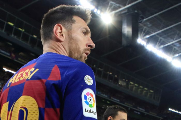 Megabintang FC Barcelona, Lionel Messi.