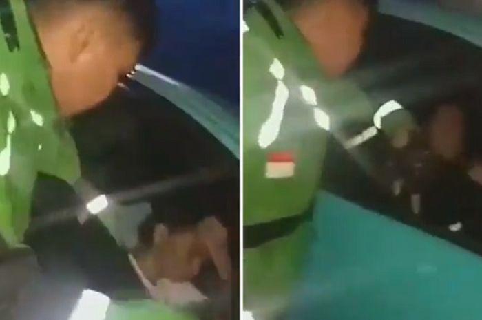 Driver Ojol tampar Youtuber