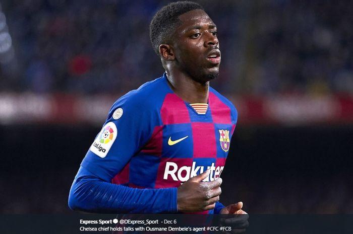 Striker Barcelona, Ousmane Dembele,  direncanakan untuk didepak dari Camp Nou pada musim panas mendatang.