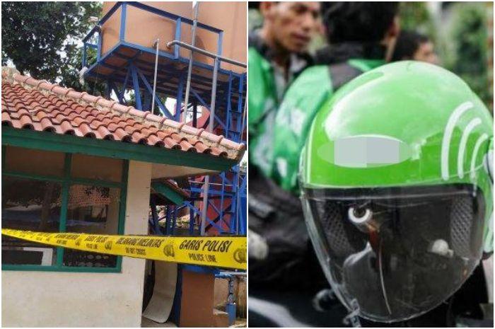 Kolase gambar tribunjabar/syarif pulloh anwari dan ilustrasi driver ojol via Tribunnews