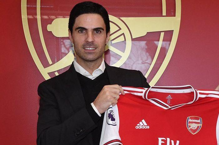 Mikel Arteta resmi menjadi pelatih klub Arsenal selama 3,5 musim