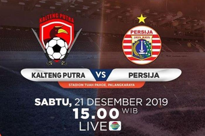 Kalteng Putra vs Persija Jakarta