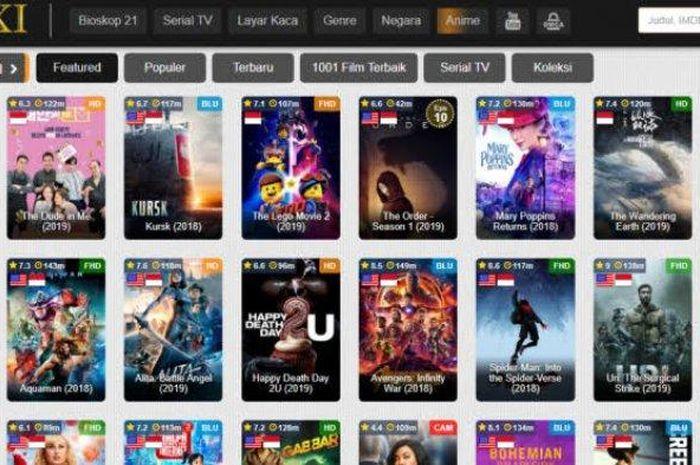 IndoXXI Sudah Tutup, Ini Situs Nonton Film Streaming ...