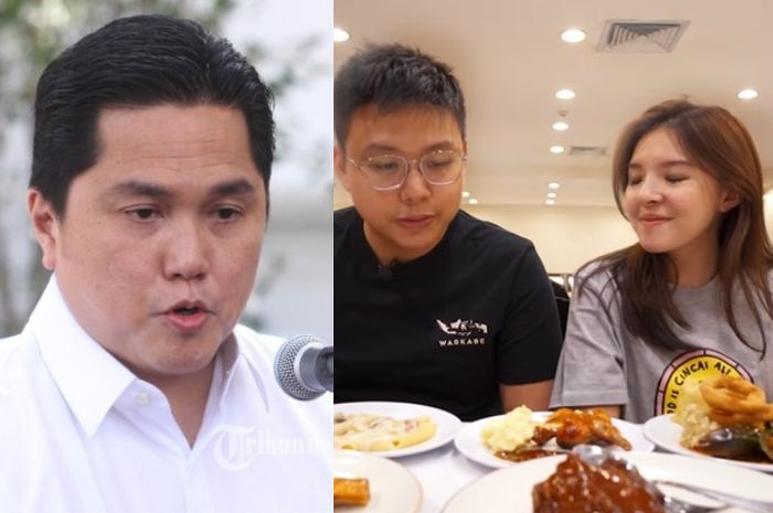 Makan di Restoran Milik Erick Thohir yang Tendang Ari Askhara dari Garuda, Youtuber Ini Kaget Saat Tahu Desas-desus tentang Tempat Makan sang Menteri BUMN