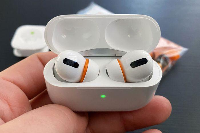 (Foto) Modifikasi Silicone Tips AirPods Pro dengan Lapisan Memory Foam