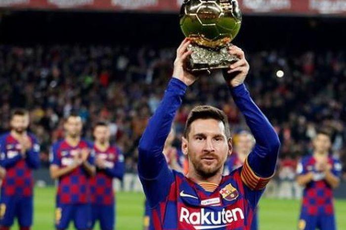 Messi Pemain Terbaik Dunia 2019