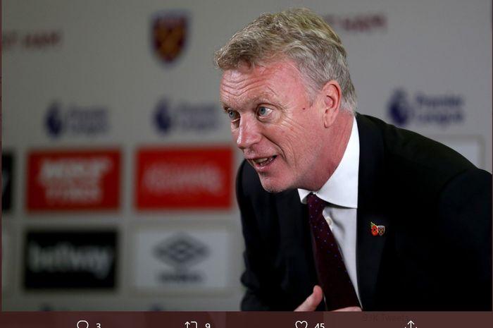 David Moyes, bakal menjadi pelatih baru West Ham menggantikan Manuel Pellegrini.