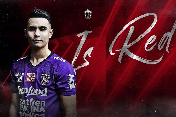 Nadeo Argawinata resmi menjadi milik tim Bali United.