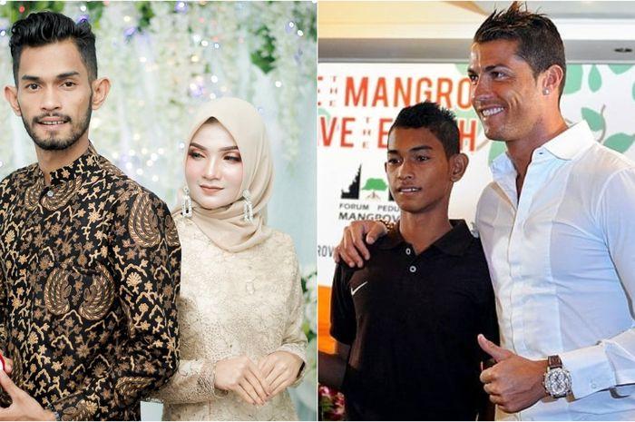 Lama Tak Terdengar Kabarnya, Anak Angkat Pesepakbola Cristiano Ronaldo Asal Aceh Melamar Sang Kekasih di Akhir Tahun 2019