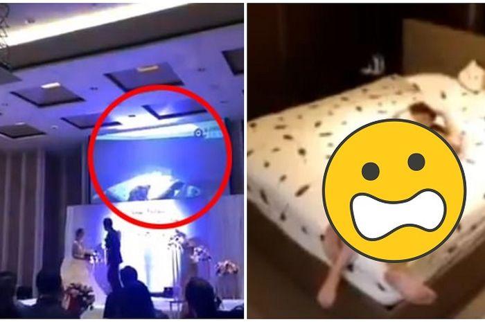 Pria ini putar video intim perselingkuhan calon istri dengan ipar.
