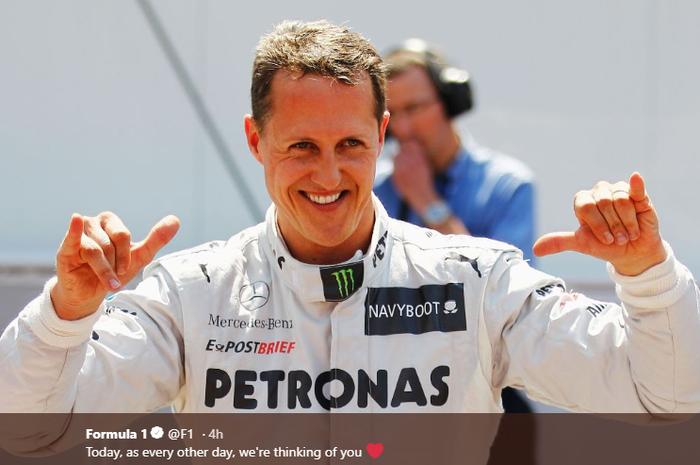 Legenda Formula 1, Michael Schumacher.