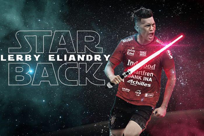 Lerby Eliandry menjadi rekrutan keempat Bali United untuk mengarungi musim 2020.