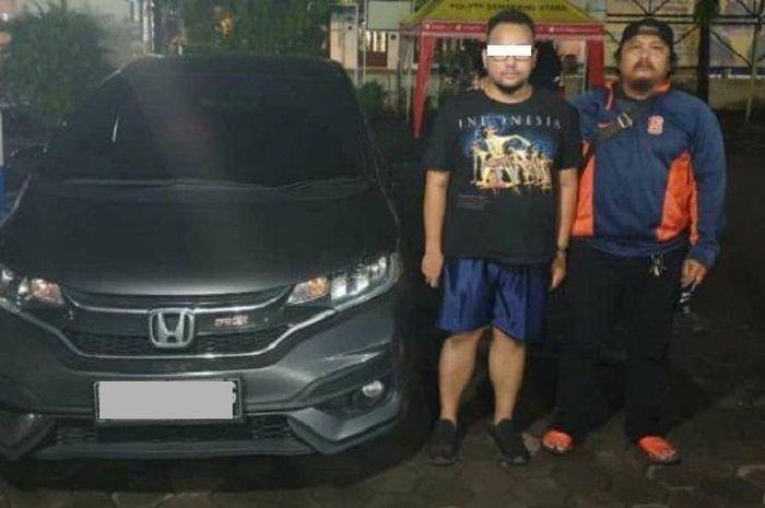 Pria Surabaya nyolong mobil di Semarang