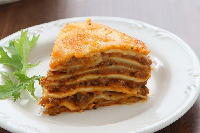 Lasagna Crepes