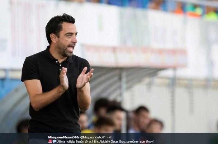 Pelatih Al-Sadd, Xavi Hernandez, dibidik Barcelona guna gantikan posisi Ernesto Valverde.