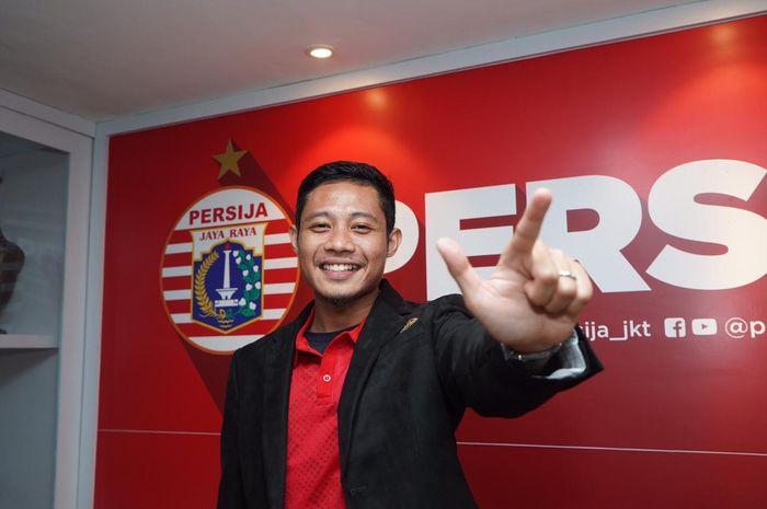 Evan Dimas Resmi menjadi pemain Persija