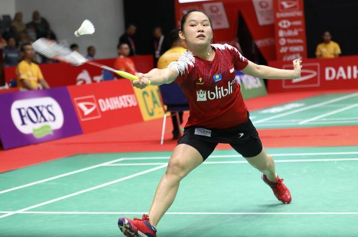 Pebulu tangkis tunggal putri Indonesia, Ruselli Hartawan.