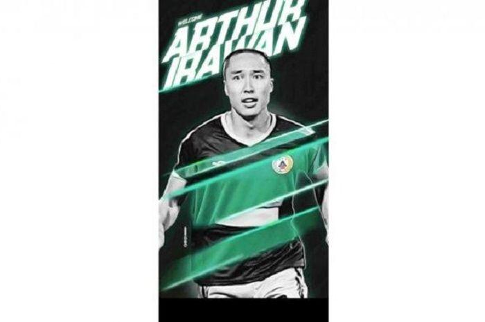 PSS Sleman mendatangkan Arthur Irawan untuk Liga 1 2020.