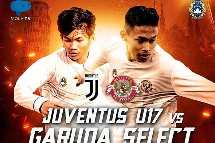 Juventus U-17 vs Garuda Select