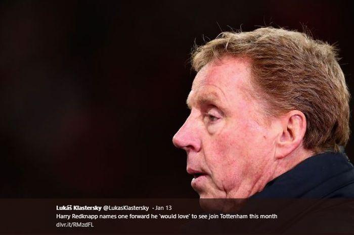 Mantan pelatih Tottenham Hotsur, Harry Redknapp.