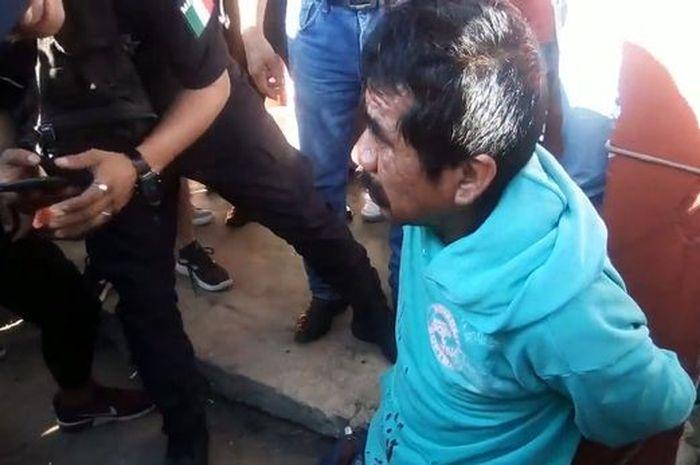 Alfredo Roblero, pelaku rudapaksa terhadap bocah enam tahun