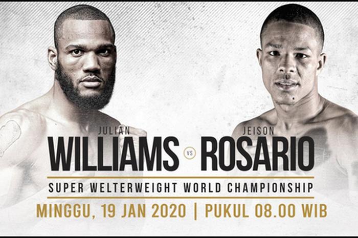 Julian Williams vs Jeison Rosario.