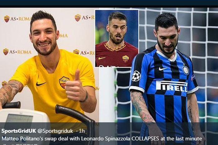 Matteo Politano Gagal ke AS Roma.