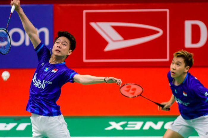 Kevin/Marcus juarai Indonesia Masters 2020